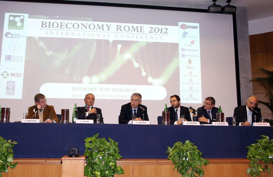 Bioeconomy Rome CNCCS IRBM