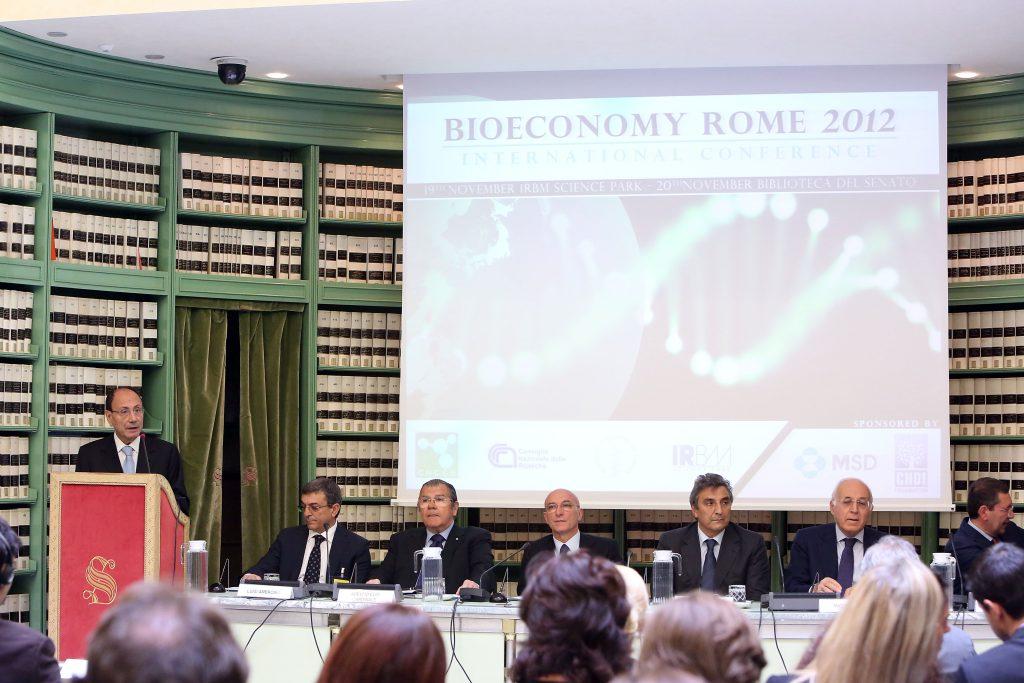 Piero Di Lorenzo CNCCS Bioeconomy Rome 2012