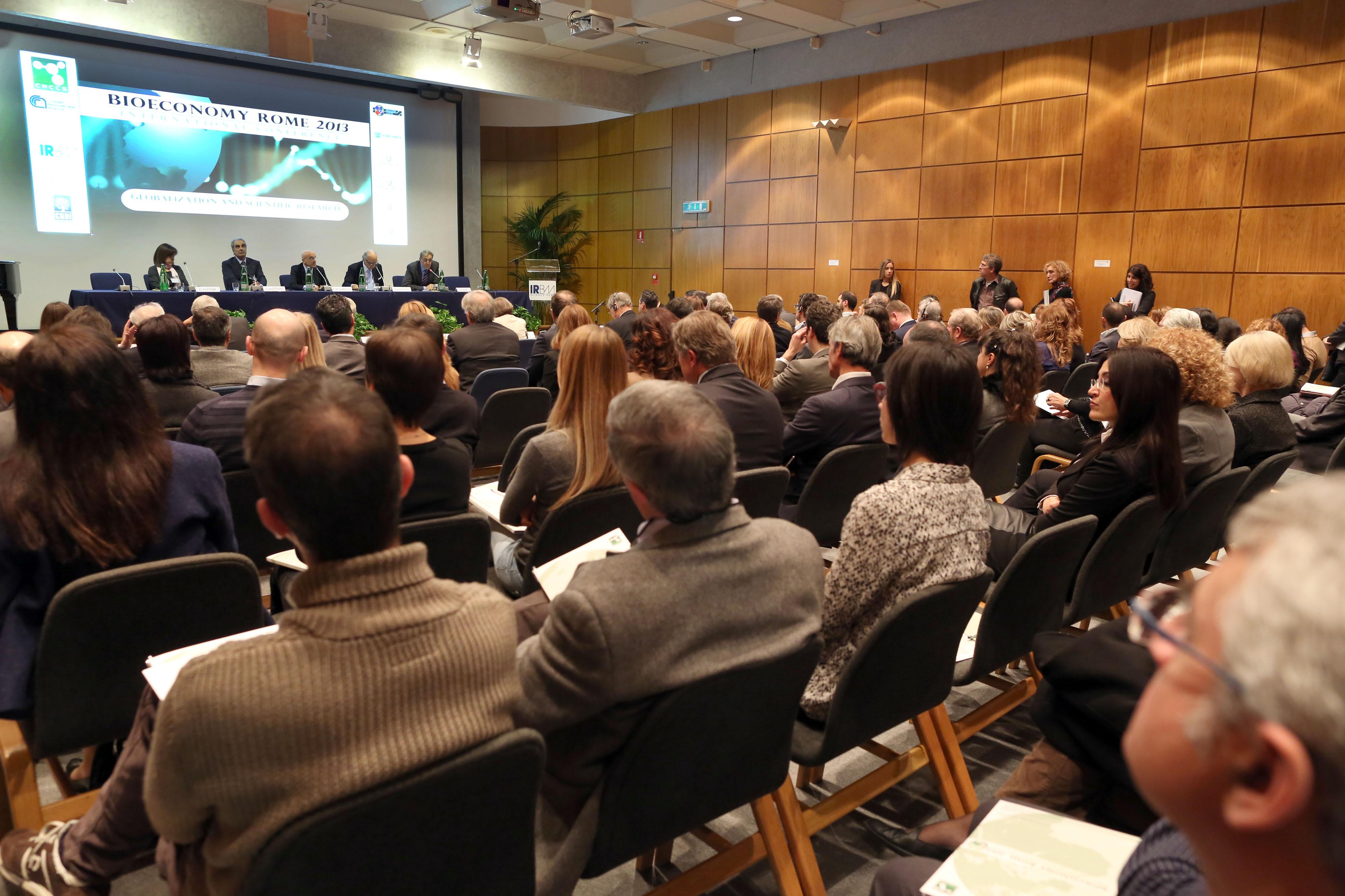 Bioeconomy Rome 2013 cnccs irbm