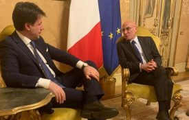 Piero Di Lorenzo presenta al Premier Conte il progetto di High Science TV