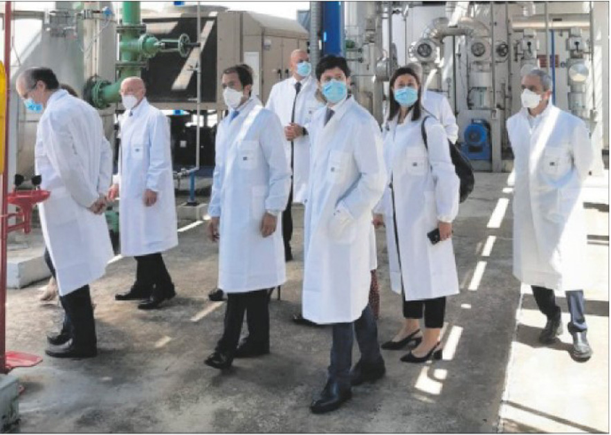 "Visit to IRBM Minister Speranza: ""Italy, a key role to have the vaccine"""